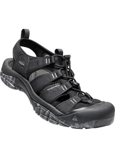 Keen Keen Newport H2 Erkek Sandalet Siyah Siyah